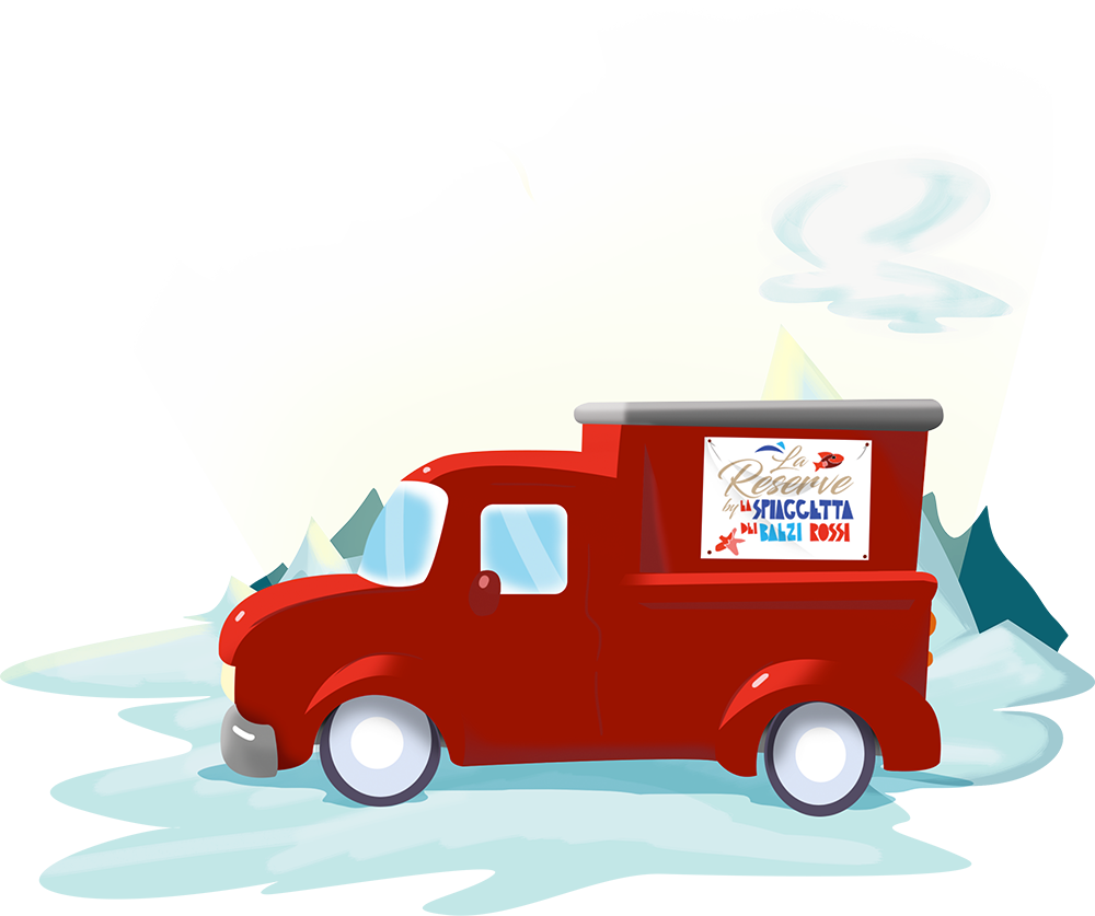 delivery furgoncino rosso reserve menu da asporto